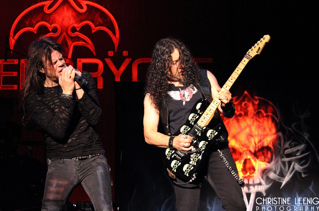 Todd LaTorre and Michael Wilton of Queensryche
